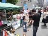 大伝馬町で「日本橋くされ市」 恵比寿通り路上封鎖で新旧住民交流