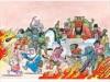 日本橋三井記念美術館で「地獄絵ワンダーランド展」 水木しげるの絵本原画も