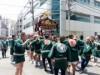 日本橋堀留町、椙の森神社で例大祭 3年に一度の大みこし巡幸に新旧地元住民