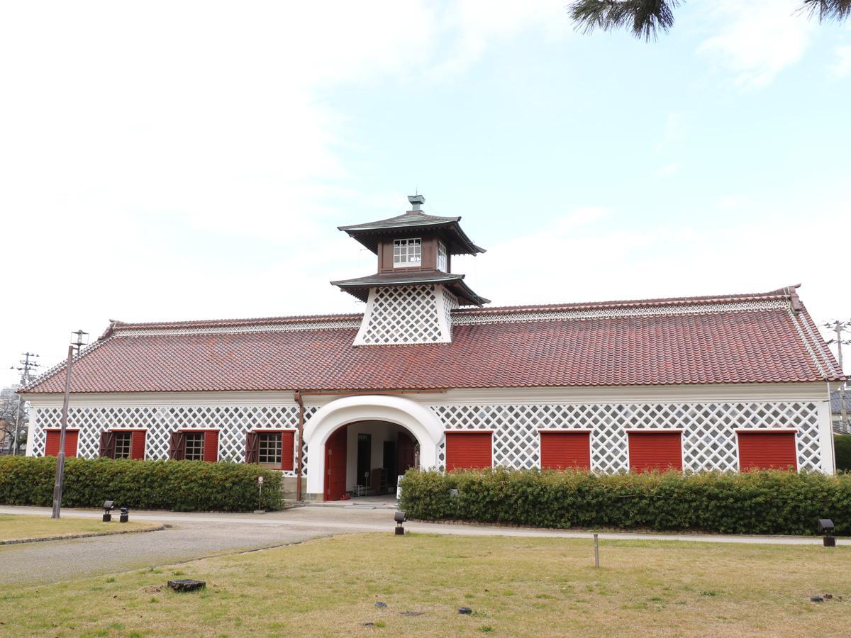 一般公開が再開された旧新潟税関庁舎