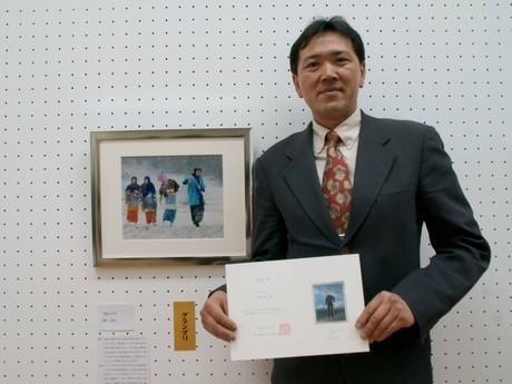 第21回グランプリ受賞者の星野忠雄さん