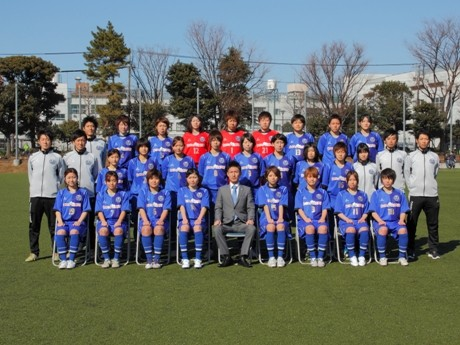 スフィーダ世田谷FCのトップチームに所属する選手ら