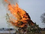 二子玉川「どんど焼き」、鎌田南睦会が「伝統」つなぎ今年も開催へ