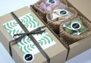 地域ブランド・フタコラボが新商品第6弾-「アートを贈る」焼き菓子