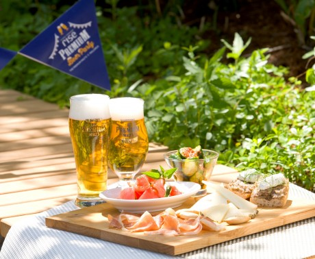 夏季限定ビアテラス「premium Beer Party(プレミアムビアパーティー)」イメージ