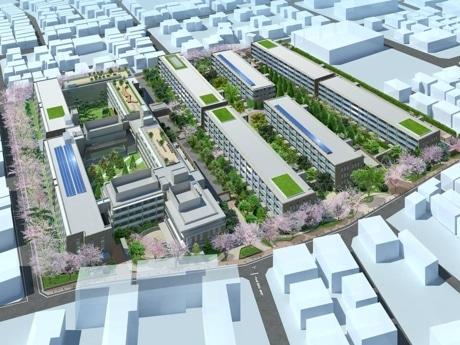 「世田谷中町プロジェクト」イメージパース