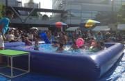 「用賀サマーフェスティバル」開催へ 駅前に巨大プールも