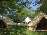多摩川河川敷で「二子玉川水辺茶会」 現代版北野大茶会目指し地域連携も