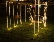 世田谷・野毛の農園で光のアートイベント 「農園×ひかり=!?」テーマに