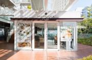 玉川高島屋「バウムクーヘン カフェ」がリニューアル バウムクーヘンを使ったケーキやバフェも