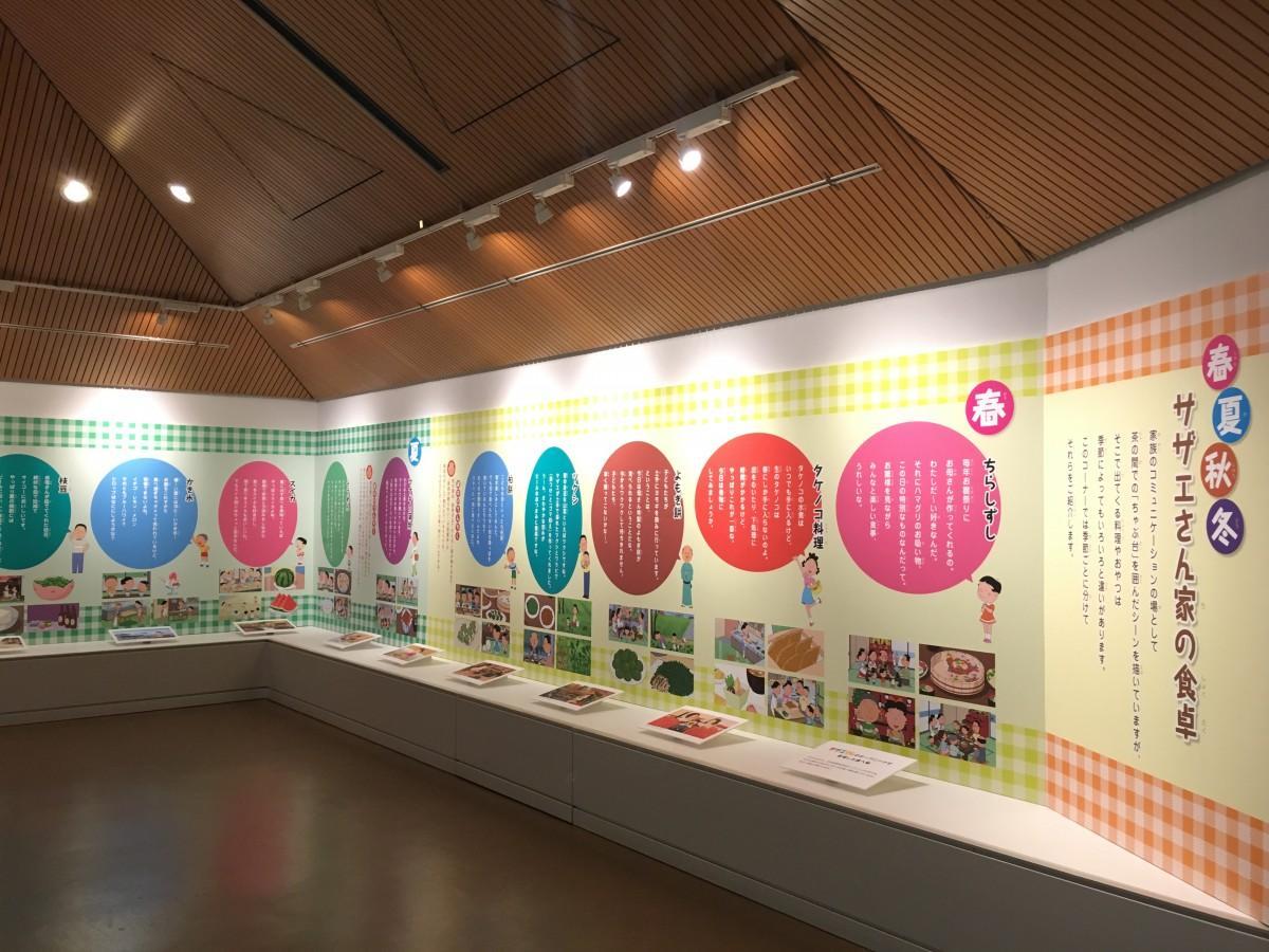 展示の様子 (©長谷川町子美術館)