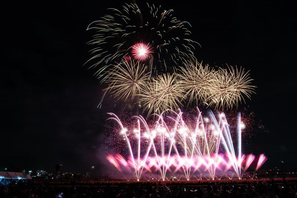 2018年(平成30年)の花火大会の様子