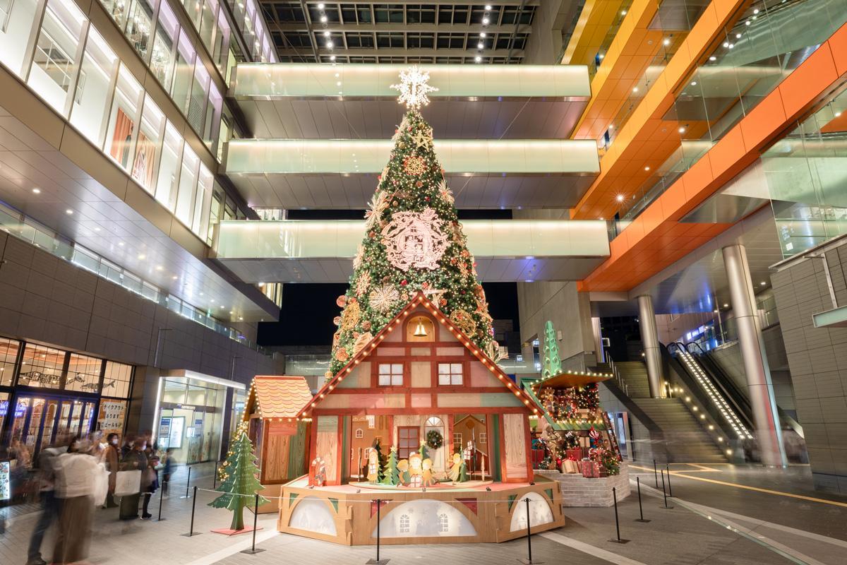 クリスマスツリーの様子