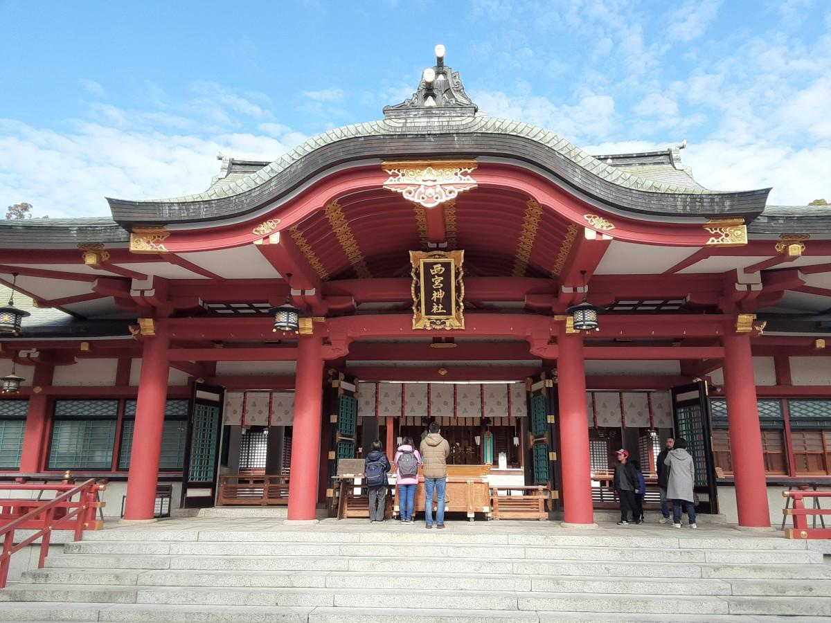 えびす神社の総本社である西宮神社