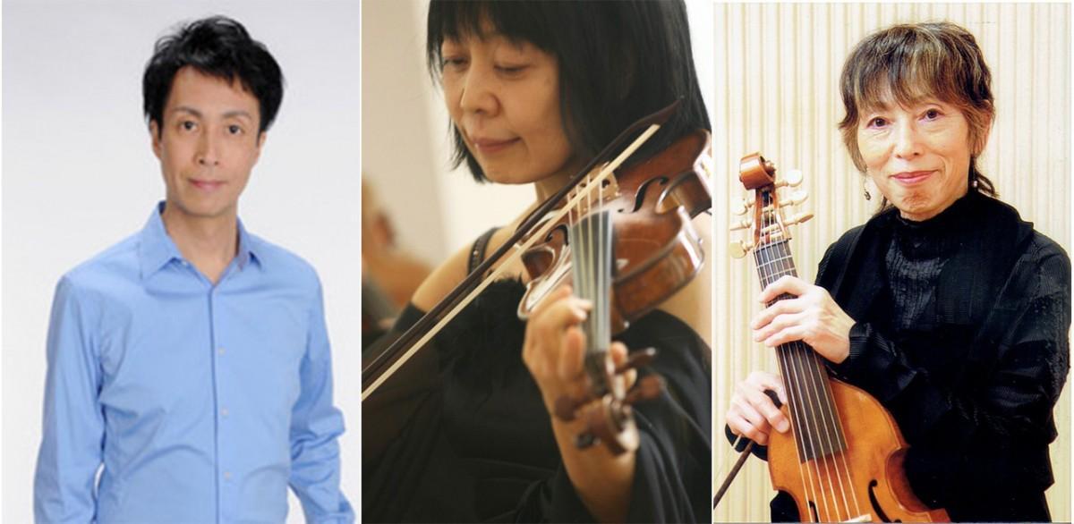 左から、脇山幹士さん、大塚まゆみさん、西村喜子さん