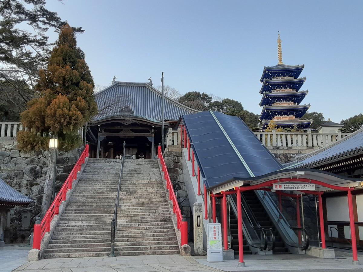 宝塚にある古刹、大本山中山寺