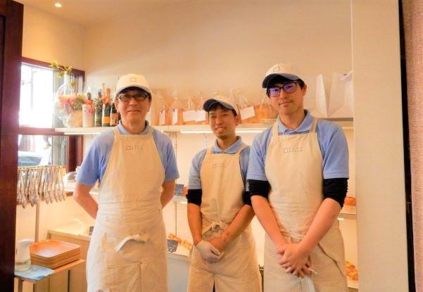 左から酒井健さん、西尾琢也さん、越智賢治さん