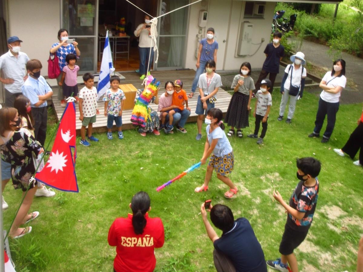 各国のイベントを楽しんだ地域の子どもたち