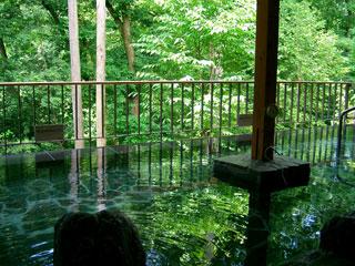 秋川渓谷に囲まれた天然温泉「瀬音の湯」
