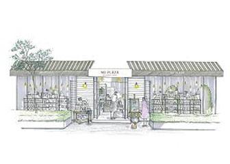 店舗の外観イメージ図