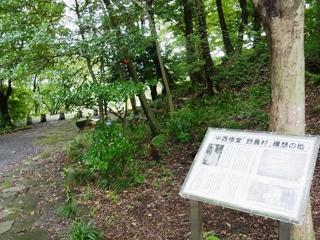 中西悟堂の野鳥村構想の地