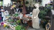 日の出町のオーガニックカフェでマルシェ  天然素材、手作り商品など