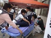 昭島・東京西徳洲会病院で大規模災害訓練 震度6強の地震を想定