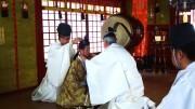御岳山山頂・武蔵御嶽神社で「元服式」 武家社会の儀式を再現