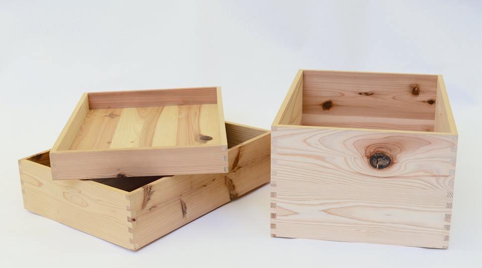 東京チェンソーズの造る木箱