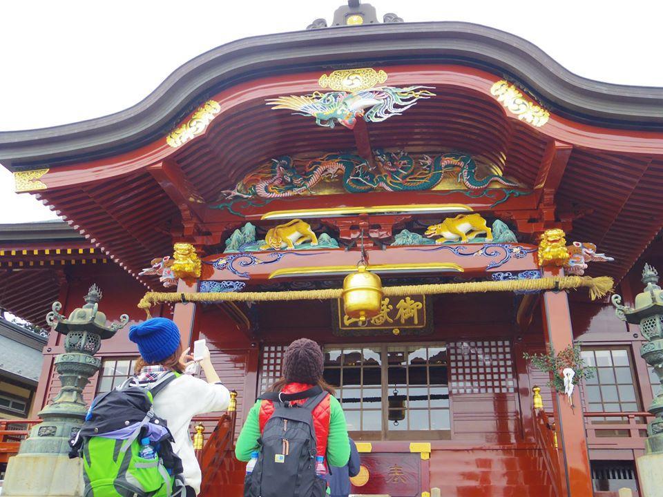 パワースポットの武蔵御嶽神社