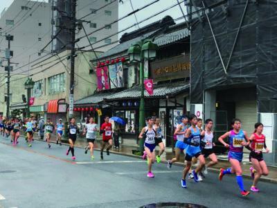 昨年の青梅マラソン
