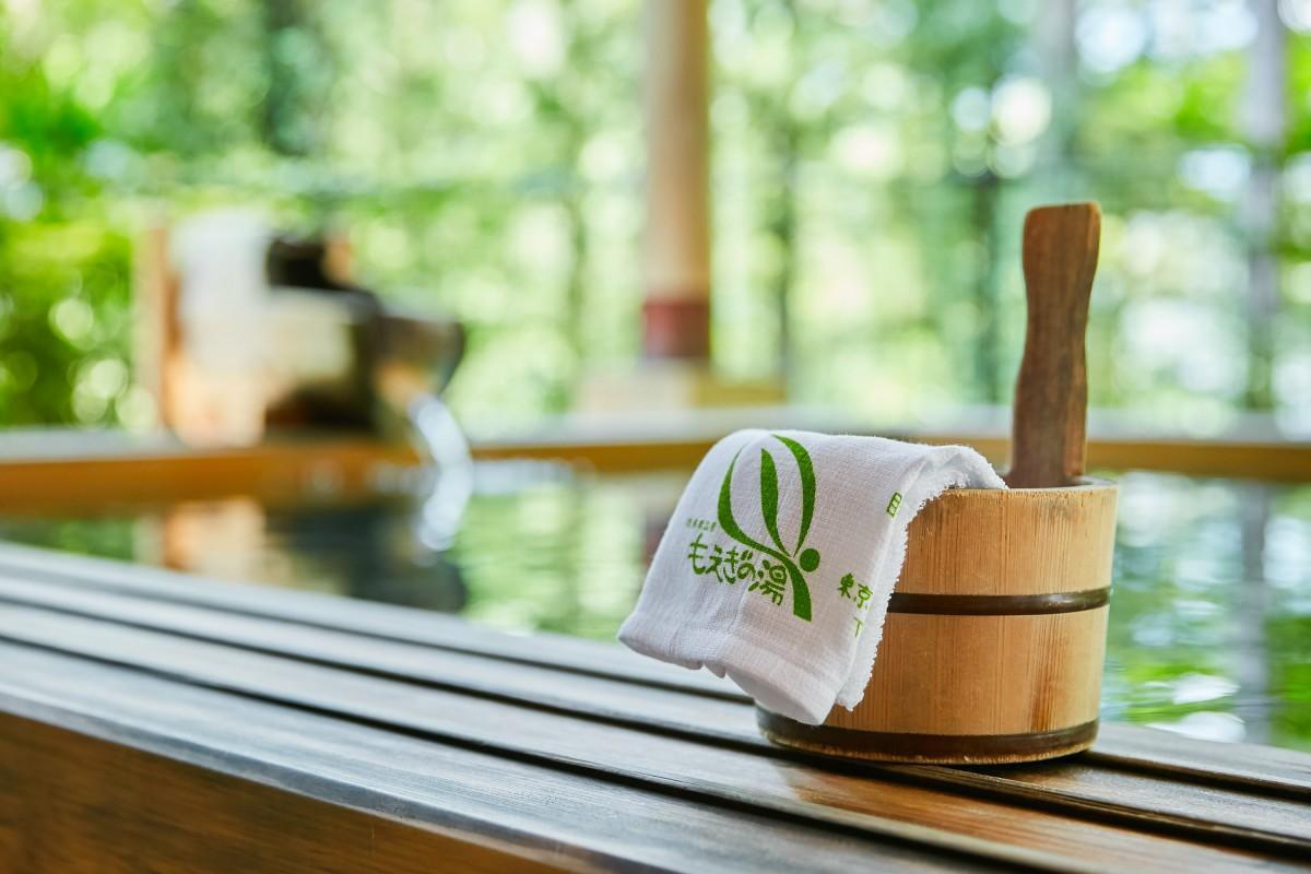 プレゼント企画第一弾でペア券が提供された「奥多摩温泉 もえぎの湯」