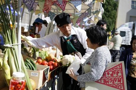 日本各地でマルシェ市場開催。いよいよ小田原・箱根に
