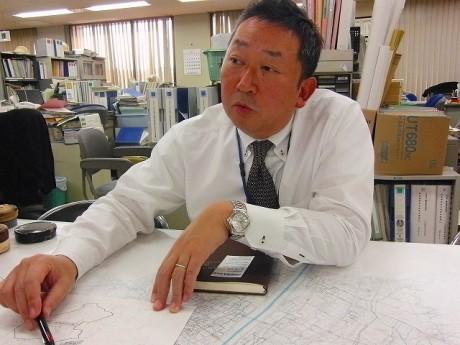 事業計画を推進している小田原市経済部農政課の穂坂さん