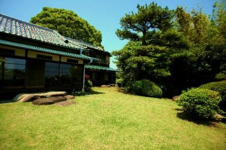 小田原の邸園の一つ「清閑亭」