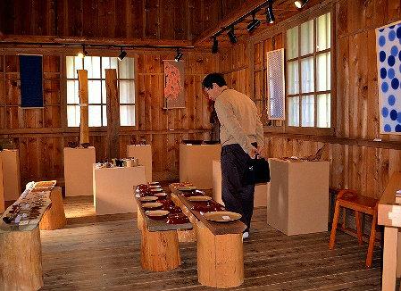 いぶき会の木工作品展