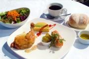 箱根ラリック美術館で秋メニュー、日替わりで「丹波栗の冷製スープ」も