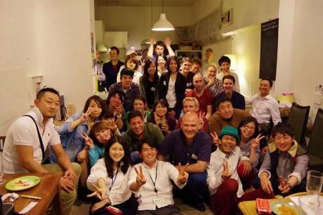 国際交流パーティーGo ouT」に参加したメンバー