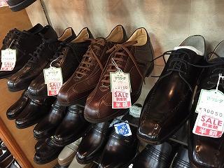 マツシタ靴店「創業祭」店内の様子