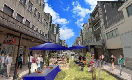 「小田原まちなか軽トラ市」で開催される「Street Loungeプレイスメイキング企画#4」のイメージ