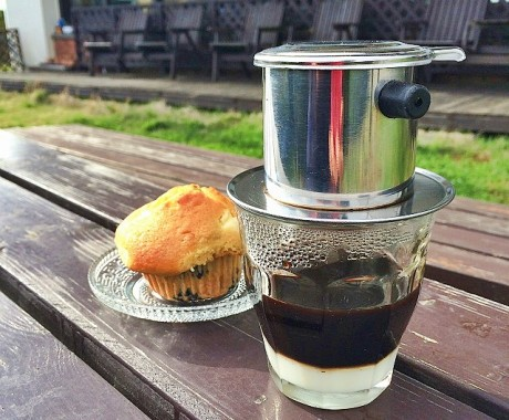 「DAMMTRAX CAFE(ダムトラックス・カフェ)」のベトナムコーヒー