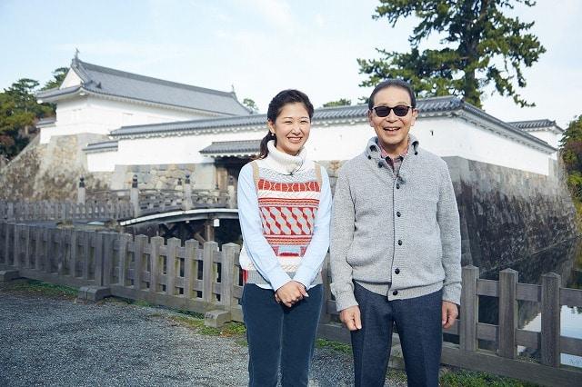 江戸の原点「小田原城」を巡る「ブラタモリ」(写真提供=NHK)