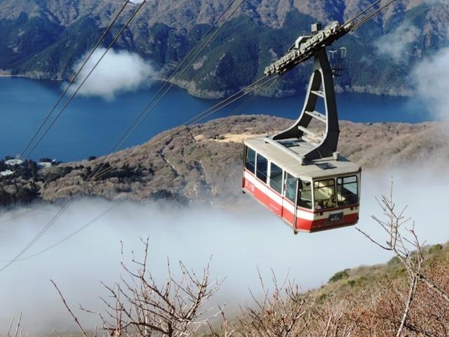 絶景が楽しめる「箱根駒ヶ岳ロープウェー」