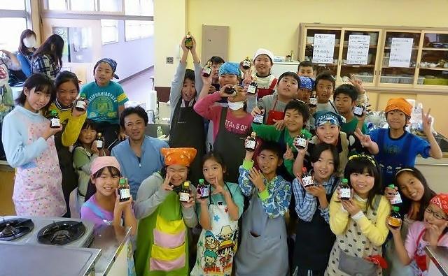 「ゆたポン酢」は湯河原町立吉浜小学校の5年生が開発