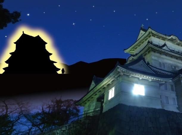 ライティングで再現する「石垣山一夜城」