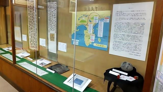 徳富蘇峰記念館で「相模湾沿岸地域別荘の人々~西部編~」会場の様子