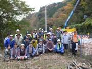 箱根で観察会とゴミの回収作業イベント ハコネサンショウウオの生息地で