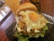 足柄・大井町の天ぷら店で「満天バーガー」 和食の手順守るご当地バーガー
