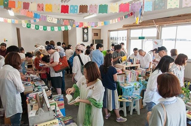 小田原ブックマーケットの様子(前回撮影)