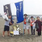 小田原と真鶴の企業・団体が海岸清掃 今後も定期的にCSR活動実施へ